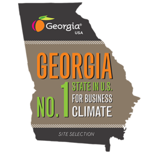 Georgia Ranked Number One State for Business